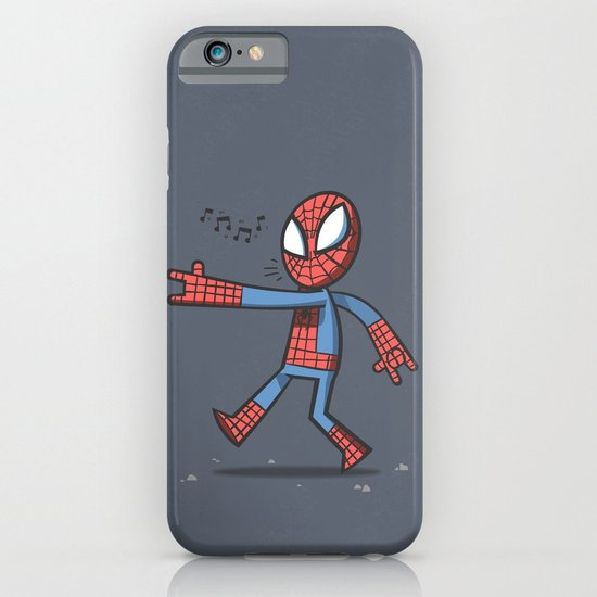 Spidey Walking iPhone & iPod Case