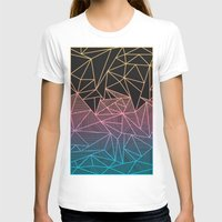 Brody Rays Womens Fitted Tee White SMALL
