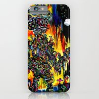 iPhone & iPod Case featuring Day of the Dead by czavelle