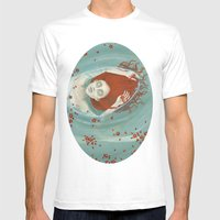 Perfume- Print Version Mens Fitted Tee White SMALL