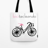 bicitecleando Tote Bag