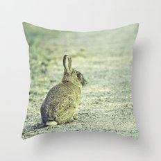 Wild Welsh Rabbit. Throw Pillow