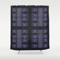 The Calligraphers Madness III Shower Curtain