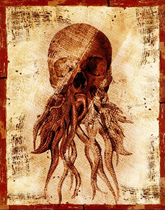 OctopuSkull Art Print