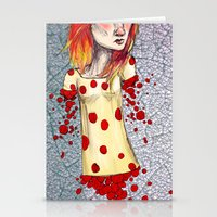Fiery Haired Stationery Cards