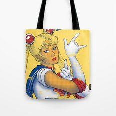 We Can Punish It! Tote Bag