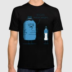 Water Weight Black SMALL Mens Fitted Tee