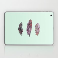 watercolor feathers (mint green) dos Laptop & iPad Skin