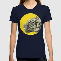 Wild 4 By Eric Fan & Gar… Womens Fitted Tee Navy SMALL