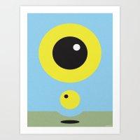 BLUE SOLSTICE Art Print