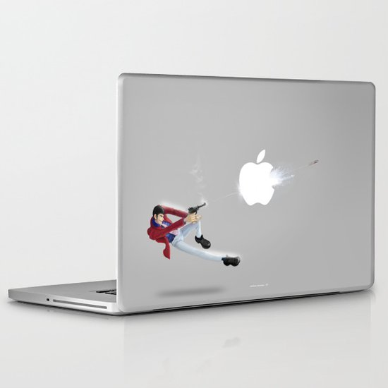 You can't steal everything!.....Lupin Laptop & iPad Skin