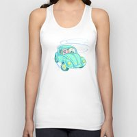 We're Doing Donuts!  Unisex Tank Top