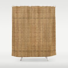 Wicker  Shower Curtain