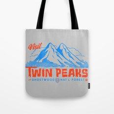 Visit Twin Peaks (orange… Tote Bag