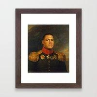 John Cena - replaceface Framed Art Print
