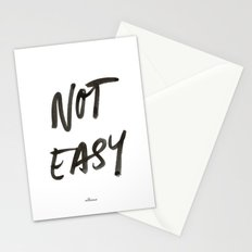 Not Easy Stationery Cards