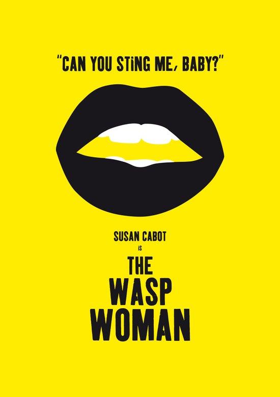 The Wasp Woman Art Print