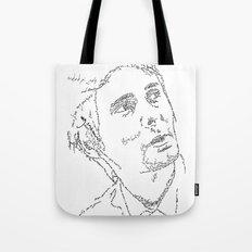 Matthew Bellamy WordsPortrait Tote Bag
