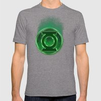 Green Lantern Spectre Mens Fitted Tee Tri-Grey SMALL