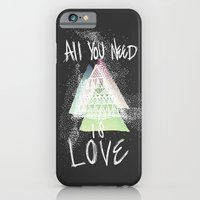 iPhone & iPod Case featuring All You Need Is Love by Elektrikk