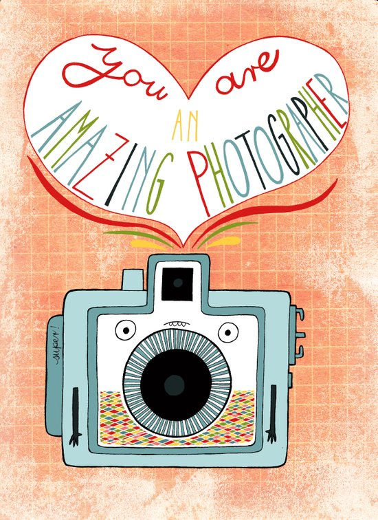 you are an amazing photographer Art Print