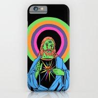 Blacklight Jesus iPhone 6 Slim Case