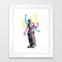 Venus de Milo is Made of Rock Framed Art Print