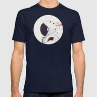 GOD IS AN ASTRONAUT Mens Fitted Tee Navy SMALL