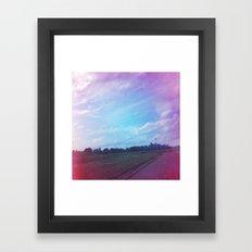At the Post Framed Art Print