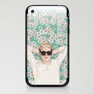 Niall Daisies Field iPhone & iPod Skin