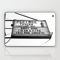 Pee Wee Tavern Sign Laptop & iPad Skin