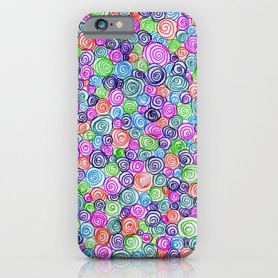 Do the Twist (bright) iPhone & iPod Case