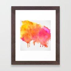 Splash #society6 #buyart #decor Framed Art Print