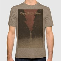 There Will Be Blood - Al… Mens Fitted Tee Tri-Coffee SMALL