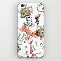 R.I.P. Funky Skull Joy D… iPhone & iPod Skin
