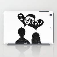 ILoveYou iPad Case