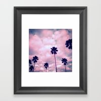 More Palms II Framed Art Print
