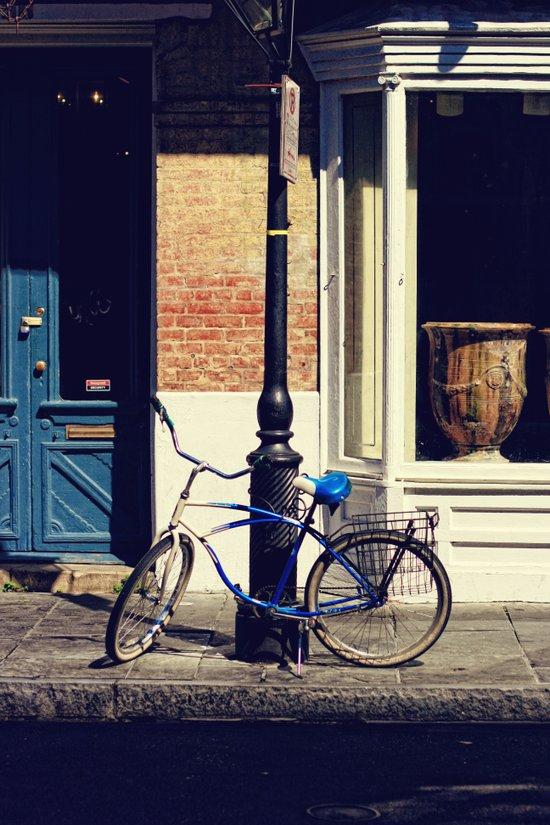 New Orleans Bicycle Art Print