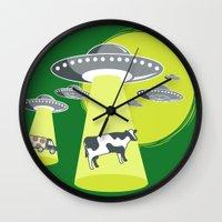 Late Night Snack Wall Clock