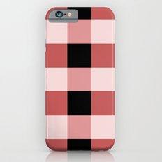 Pink squares iPhone 6 Slim Case