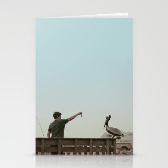 Here Birdie Birdie Birdie Stationery Card
