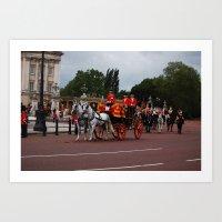 The Royal Carriage 12 Art Print