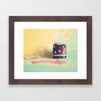 VW Down Under Framed Art Print