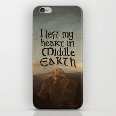 I Left My Heart In Middl… iPhone & iPod Skin