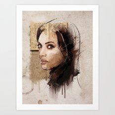 A.J. Art Print