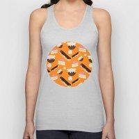 sweet things (on orange) Unisex Tank Top