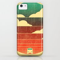 iPhone 5c Cases featuring Go West by Budi Kwan