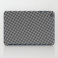 BLACK DOT iPad Case