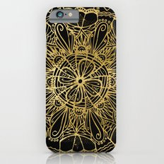 Zen Gold, Mandala 1 Slim Case iPhone 6s