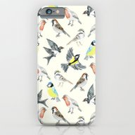 Illustrated Birds iPhone 6 Slim Case
